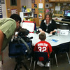 Channel 11 (CBS) News visited Martha Reid Elementary on May 4 to highlight the campus for winning the Elementary Principal's Fitness Challenge. <br /> <br /> Kindergarten teacher Amanda Schatz was interviewed to discuss her fitness and nutrition plan. Schatz reported that she has lost 48 pounds so far!