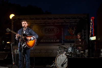 Dillion Hodges, a UNA music grad, songwriter and singer
