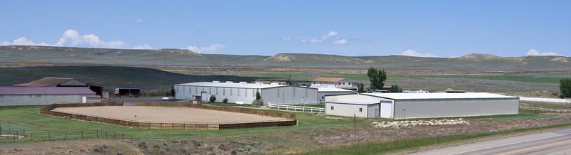 Equestrian facilities near Billings.