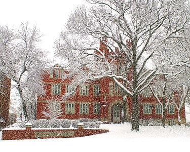 Old Main-Snow 363A-1