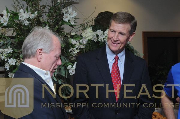 2015-07-30 FACULTY Ricky Ford Reception at Northeast Mississippi Planning and Development District