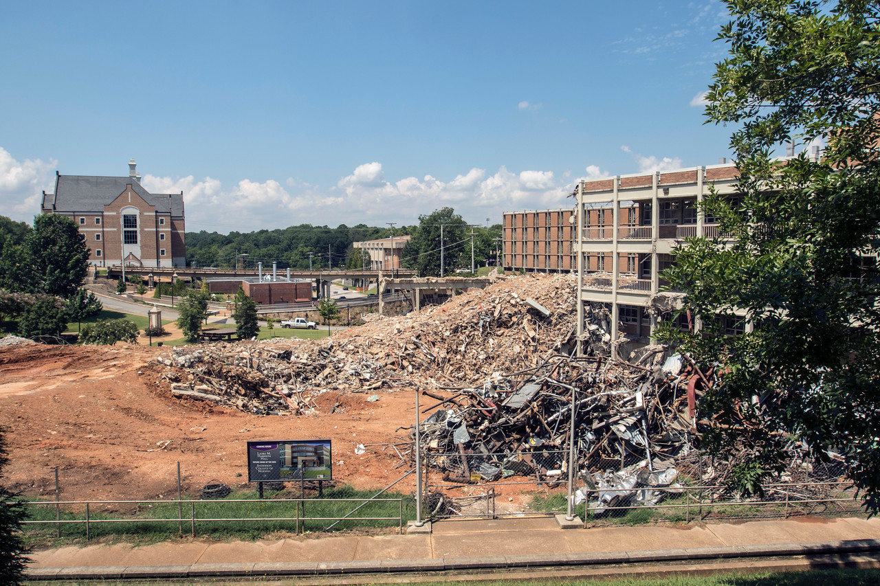 Future Site of Anderson College of Nursing