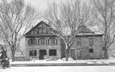 Arthur House circa 1930s during the Shaver ownership