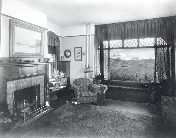 Bemis Hall Dean of Women's Apartment Early 1900's