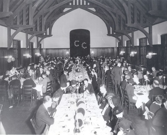 Homecoming celebration  in Bemis Hall