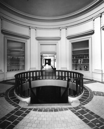 Rotunda as seen from the main south entry door circa 1920