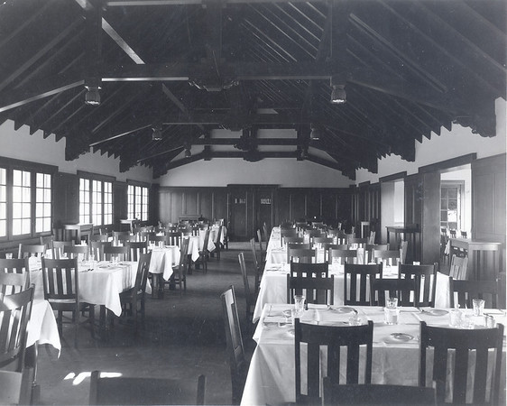 Cossitt Hall Dining Room Circa 1920