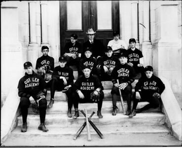 Cutler Academy baseball team circa 1900