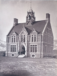 Cutler hall 1880 prior to the addition of the wings