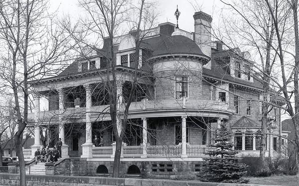 Jackson House Facing Southwest Circa 1940's