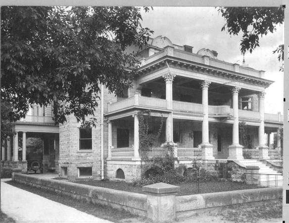 Jackson House circa 1920