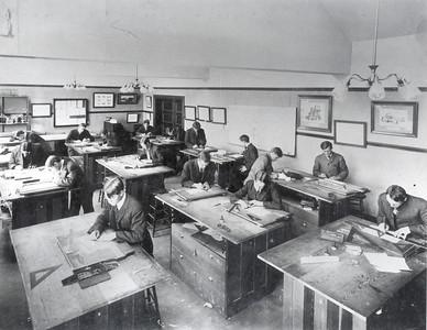 Palmer Hall Drafting Room 1906