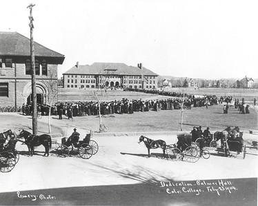 Palmer Hall Dedication, February 23, 1904
