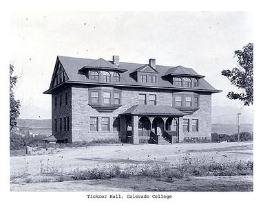 Ticknor circa 1900 facing east