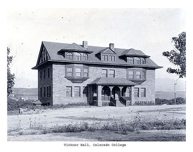 Ticknor circa 1900 facing east