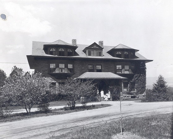 Ticknor Hall Facing East, Early 1900's