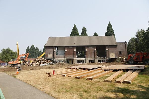 Howard Hall Demolition 8/3