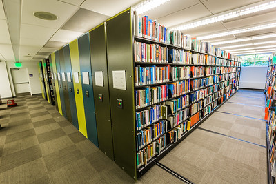 The majority of the collection is now consolidated on one floor thanks to this space saving technology.