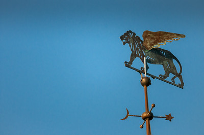 Weathervane lion 10.20.12