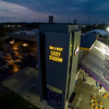 Casey Stadium Sign at Night<br /> Photo By Brian Busher