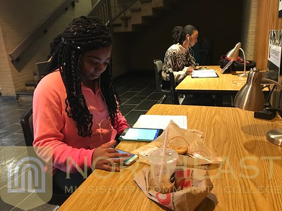 2019-02-07 STUDY Students Studying in McCoy