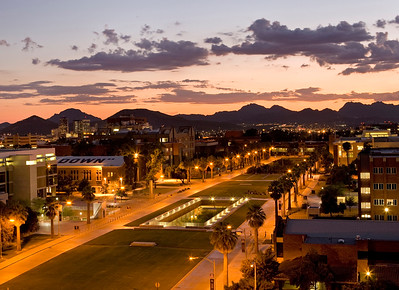 University of Arizona campus photos