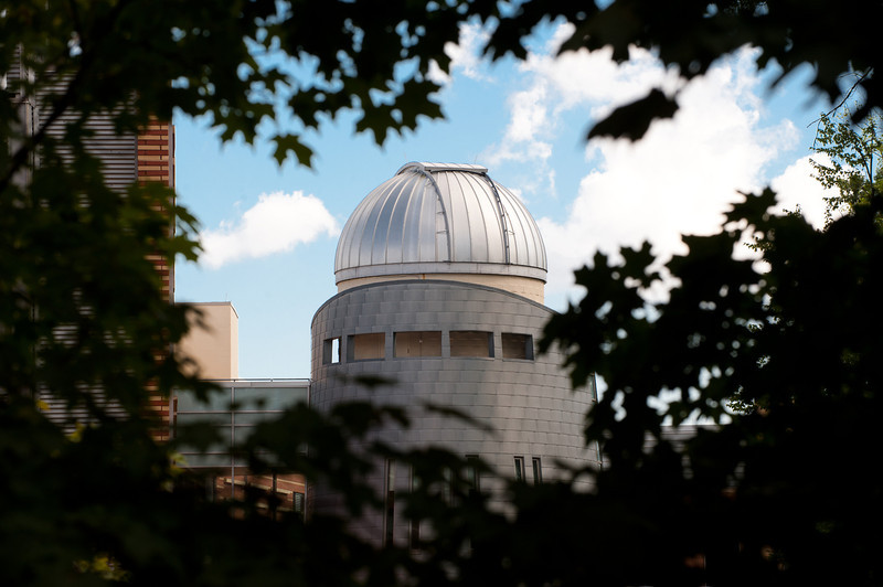 Research Hall Observatory. Photo by Creative Services/George Mason University
