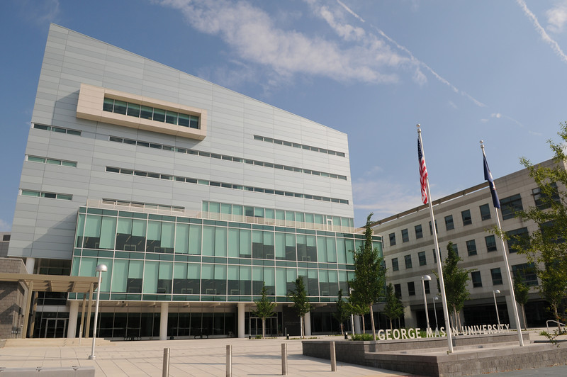 Founders Hall at the Arlington Campus.  Photo by Creative Services/George Mason University