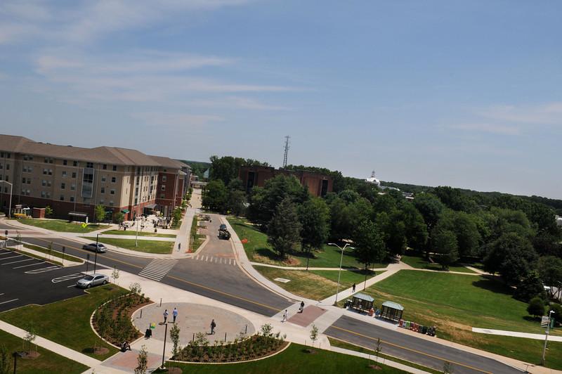 Northeast sector, Fairfax campus. Photo by Creative Services/George Mason University