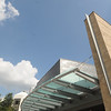 de Laski Peforming Arts Building on the Fairfax Campus.  Photo by Creative Services/George Mason University