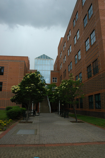 Enterprise Hall on Fairfax Campus.  Photo by Creative Services/George Mason University