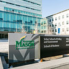 Arlington Campus sign.  Photo by:  Ron Aira/Creative Services/George Mason University