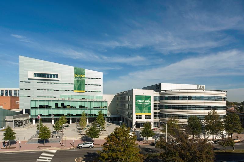 Arlington Campus, George Mason University.  (Photo by Ron Aira/Creative Services/George Mason University