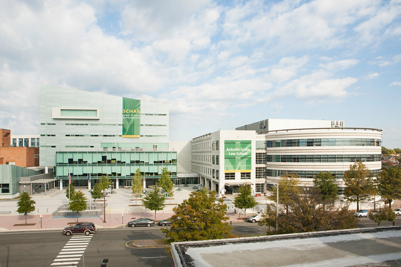 Arlington Campus.  Photo by Ron Aira/Creative Services/George Mason University