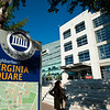 George Mason University Arlington Campus, Virginia Square sign. Photo by Creative Services/George Mason University