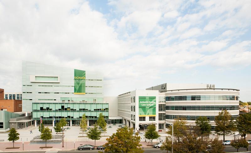 Arlington Campus.  Photo by Ron Aira/Creative Services/George Mason University