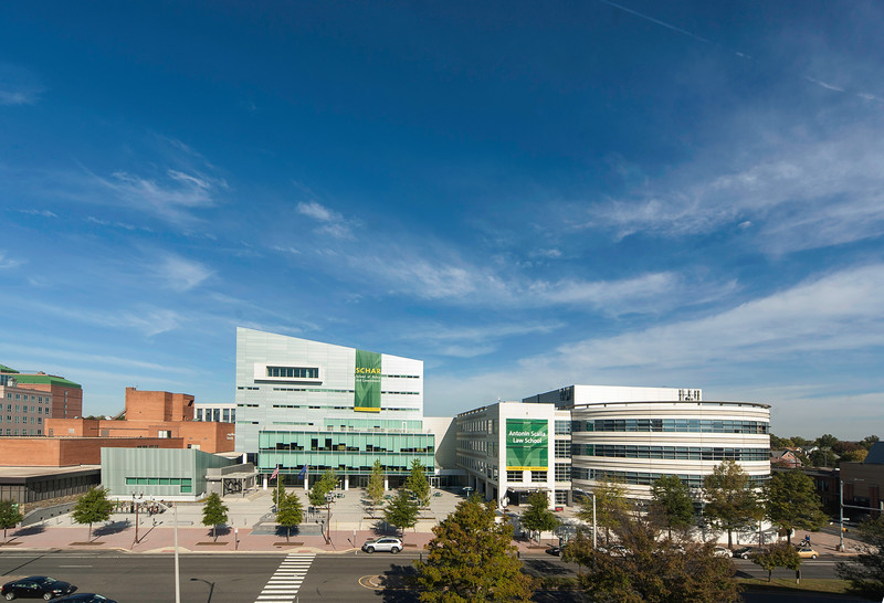 Arlington Campus, George Mason University.  (Photo by Ron Aira/Creative Services/George Mason University
