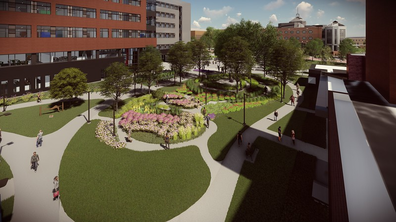 Core Campus Project renderings