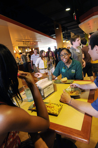 The main dining facility at the Fairfax Campus.  Photo by Creative Services/George Mason University
