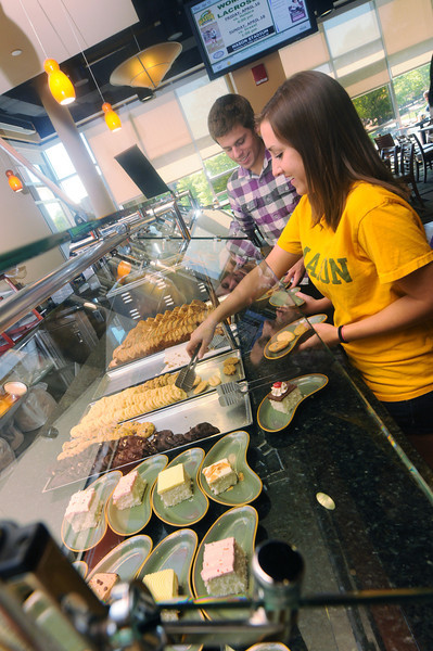 Southside is the main dining hall for the Fairfax Campus.  Photo by Creative Services/George Mason University