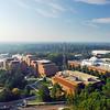 Farifax Campus, Aerial View from a crane.  Photo by Creative Services/George Mason University 060928001e