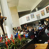 Center for the Arts lobby. Photo by Creative Services/George Mason University 100408121