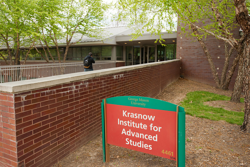 Krasnow Institute for Advanced Studies at Fairfax Campus. Photo by Alexis Glenn/Creative Services/George Mason University