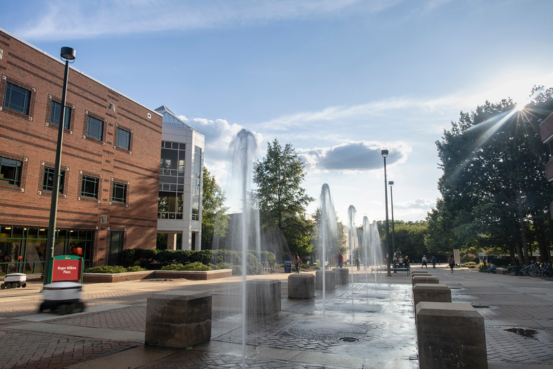 Fairfax Campus Fountains