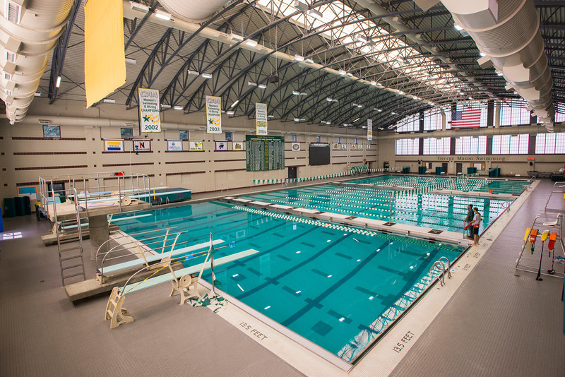 "Aquatic and Fitness Center at Fairfax Campus. For more Aquatic and Fitness Center images please visit our Recreation gallery at <a href=""http://smu.gs/QSGgrv"">http://smu.gs/QSGgrv</a>"