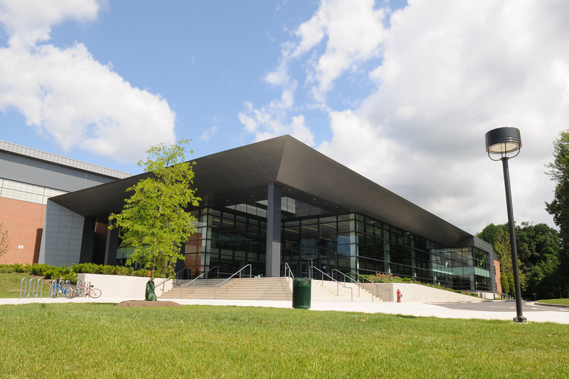 Recreational Athletic Complex (RAC). Photo by Creative Services/George Mason University 100607007
