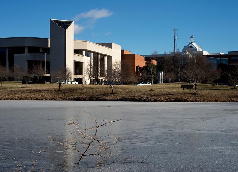 Frozen Mason Pond