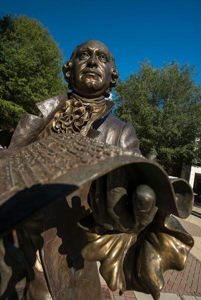 The Mason Statue