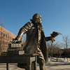 Mason Statue. Photo by Creative Services/George Mason University