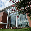 Exterior of Bull Run Hall at the Science and Technology Campus. Photo by Evan Cantwell/Creative Services/George Mason University